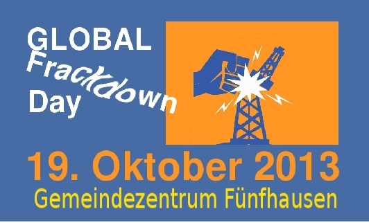 Logo Global Frackdown Day 2013 BI FFH